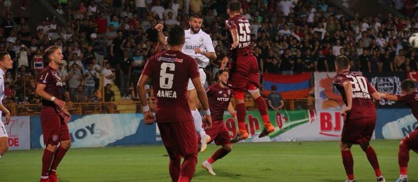 FC Voluntari - CFR Cluj. Pontul lui Karbacher