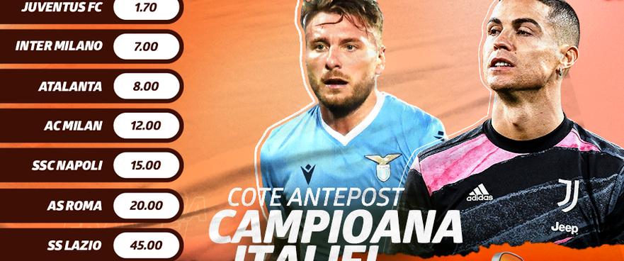 START în Campionatul Italiei! Ce spun cotele Betano despre noua stagiune din Peninsulă