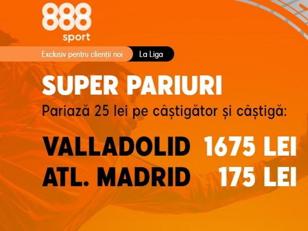 legalbet.ro: Ai cote minunate la 888 Sport pentru meciul care va decide titlul în La Liga.
