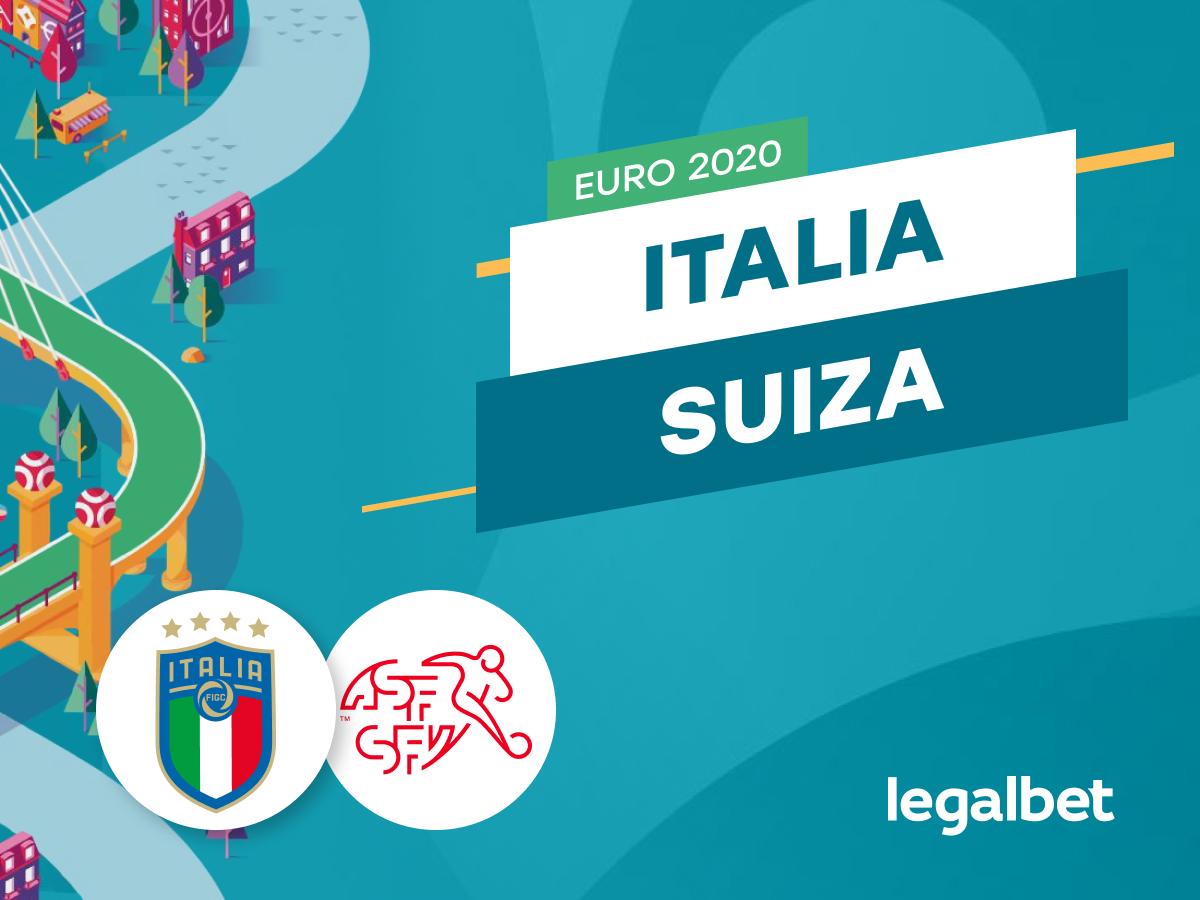Mario Gago: Apuestas y cuotas Italia - Suiza, Euro 2020.