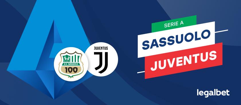 Sassuolo - Juventus Torino, cote la pariuri, ponturi şi informaţii
