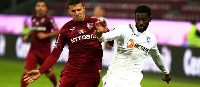 CFR Cluj - U Craiova. Pronosticuri Liga 1 Betano