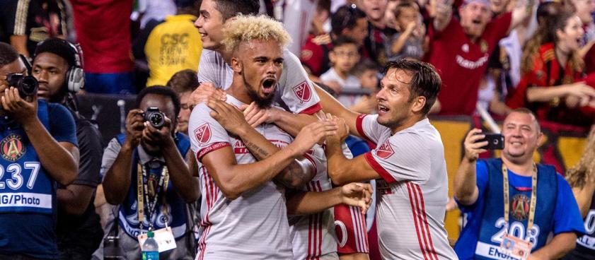 Atlanta United - Charleston + Los Angeles FC - Fresno. Pontul lui Wallberg