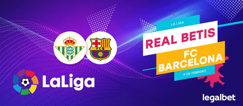 Previa, análisis y apuestas Real Betis - FC Barcelona , La Liga 2020