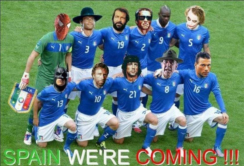 Достойно финала! Матч Германия - Италия.