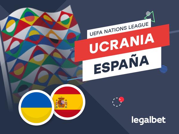 Antxon Pascual: Apuestas y cuotas Ucrania - España, UEFA Nations League 2020.