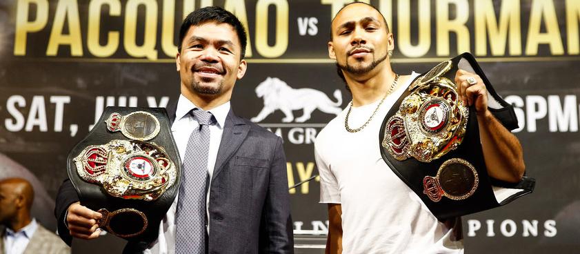 Турман - Пакьяо: прогноз на бой за титул WBA в полусреднем весе