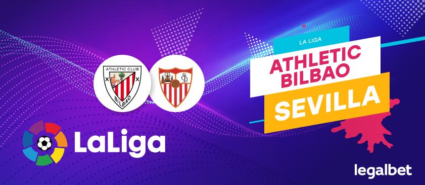 Previa, análisis y apuestas Athletic Bilbao - Sevilla, La Liga 2020