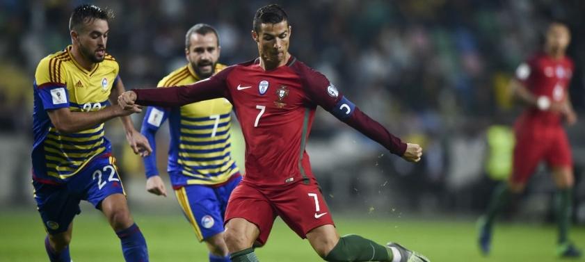 Отборочные матчи на ЧМ-2018. Андорра - Португалия