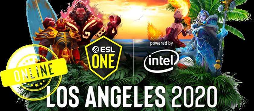 Старт ESL One Los Angeles 2020 - Online: Europe & CIS. Ставки на первые матчи