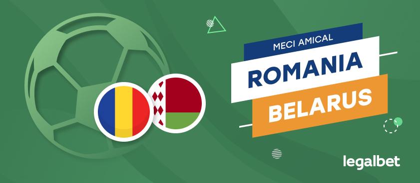România - Belarus: cote la pariuri şi statistici