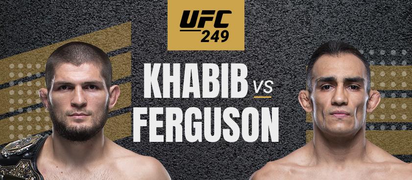 Khabib vs Ferguson: Apostas e Probabilidades na Luta do UFC 249