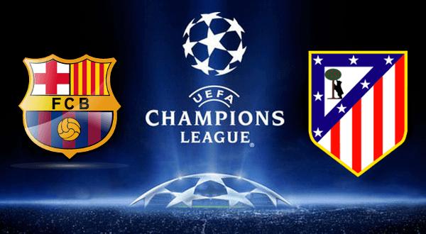 Нападение против защиты, Барселона против Атлетико.