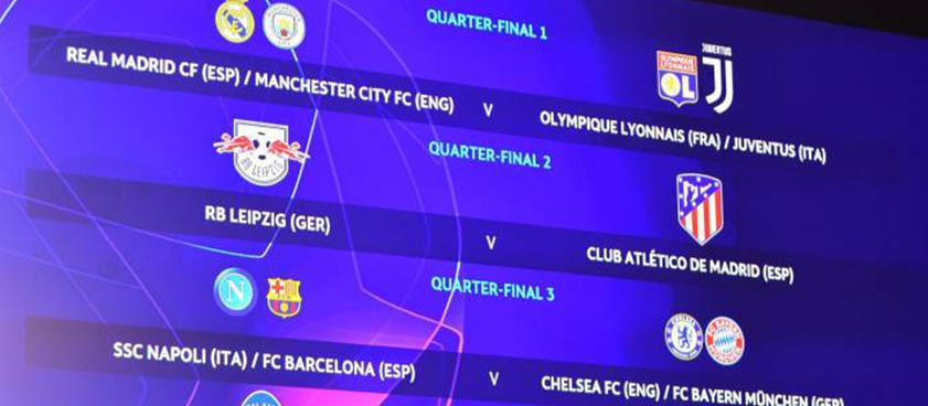 S-au stabilit sferturile UEFA Champions League: Bayern Munchen si Manchester City sunt favorite!