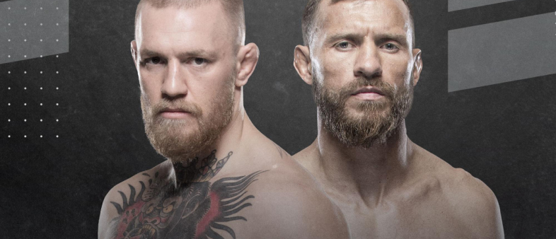McGregor — Cerrone: Bets on the Main Fight UFC 246