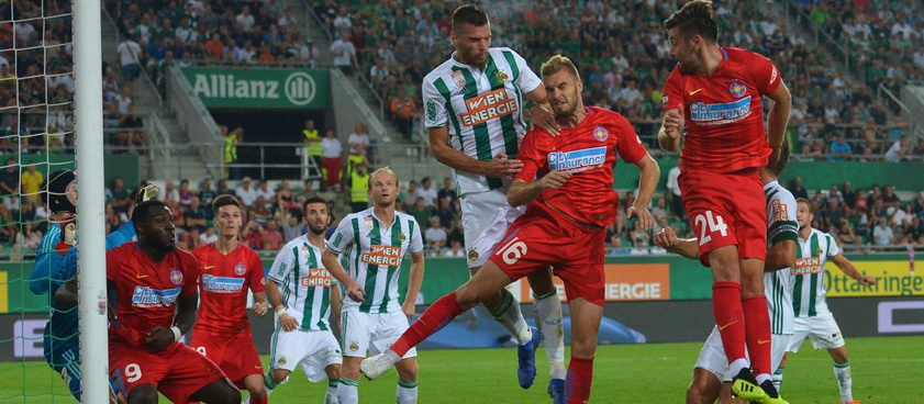 Fotbal Club FCSB - Rapid Viena. Pontul lui Karbacher