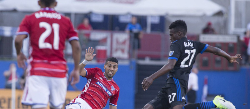 FC Dallas - San Jose Earthquakes. Pontul lui Wallberg