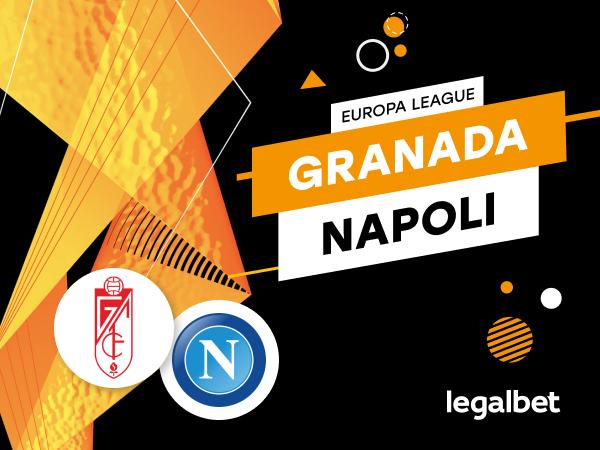 Mario Gago: Apuestas y cuotas Granada - Napoli, Europa League 2020/21.