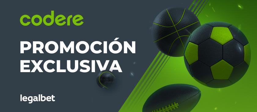 Promoción exclusiva Codere - ¡Supercuotas en La Liga!