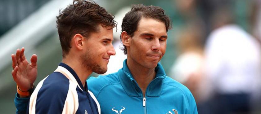 Rafa Nadal vs Dominic Thiem, meciul zilei la Roland Garros