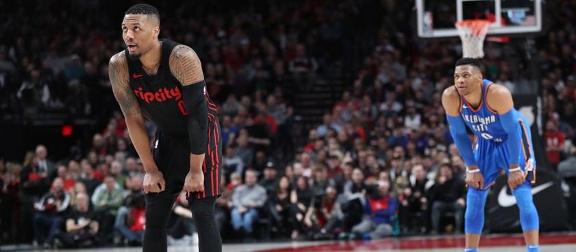 Oklahoma City Thunder - Portland Trail Blazers. Pronosticuri NBA