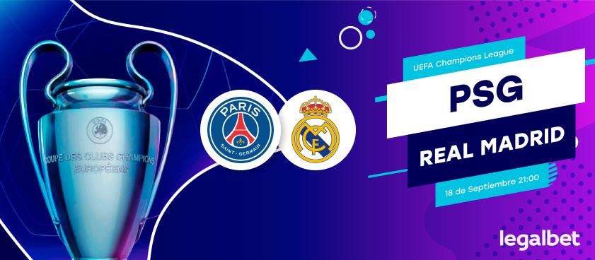 Previa PSG - Real Madrid, Champions League 2019