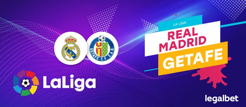 Previa, análisis y apuestas Real Madrid - Getafe, La Liga 2020
