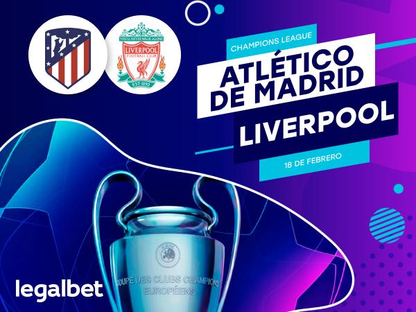 Antxon Pascual: Previa, análisis y apuestas Atlético de Madrid - Liverpool, Champions League 2020.