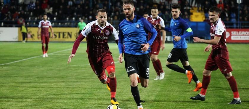CFR Cluj - FC Viitorul. Pontul lui Karbacher
