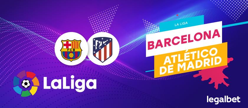 Previa, análisis y apuestas FC Barcelona - Atlético de Madrid , La Liga 2020