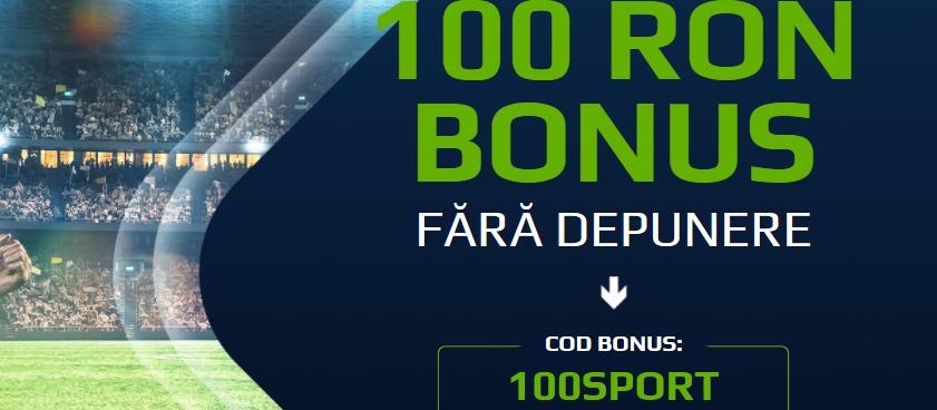 Bonus de 100 de lei fara depunere la Netbet