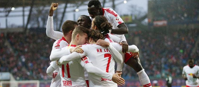 Боруссия Менхенгладбах - Лейпциг: центральный матч 30 тура Бундеслиги