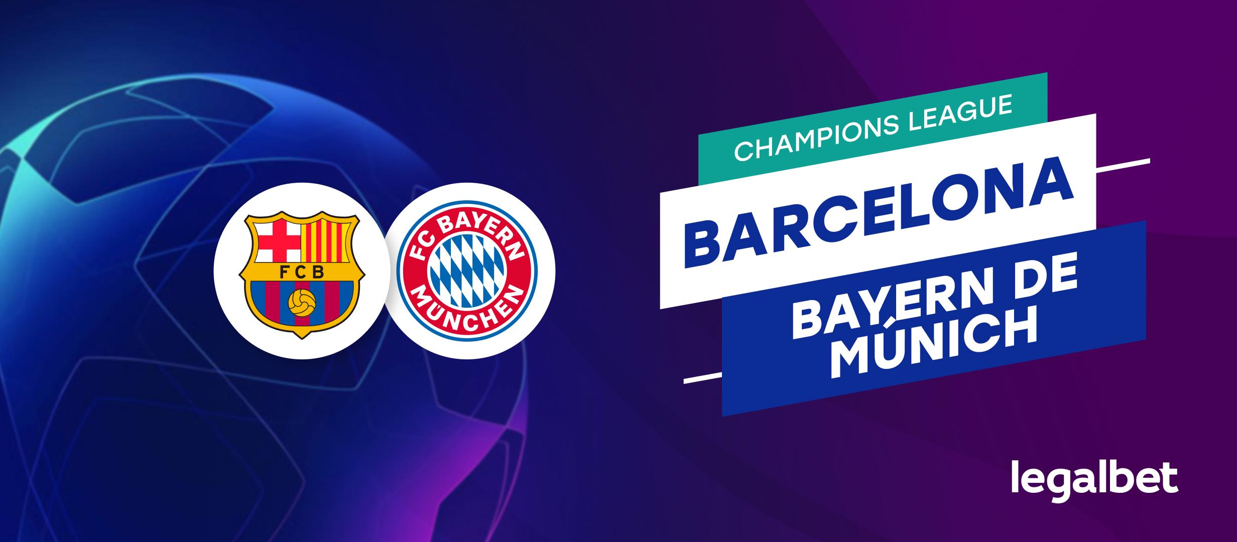 Apuestas Barcelona - Bayern de Múnich