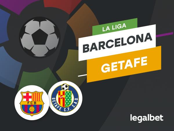 Antxon Pascual: Apuestas y cuotas Barcelona - Getafe, La Liga 2020/21.