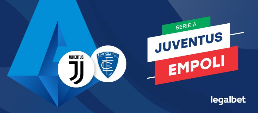 Apuestas y cuotas Juventus - Empoli, Serie A 2021/22