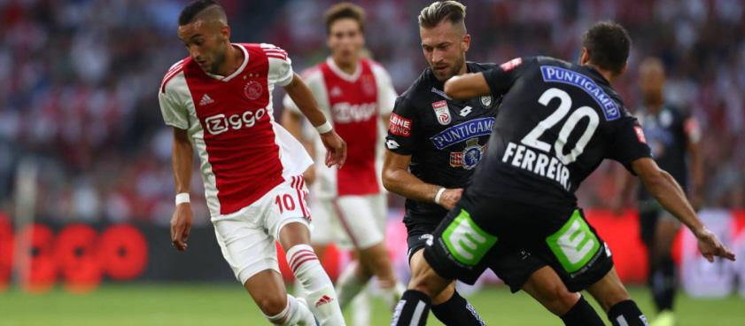 Sturm Graz - Ajax. Pariul lui Wallberg