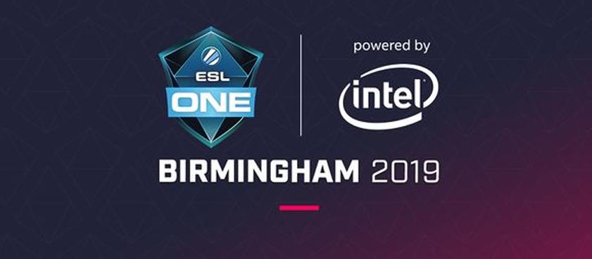 Превью турнира ESL One Birmingham 2019
