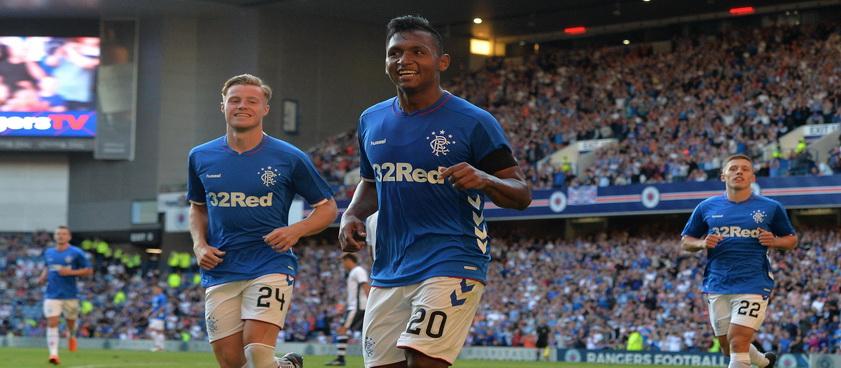 Glasgow Rangers - UFA. Pontul lui Nica