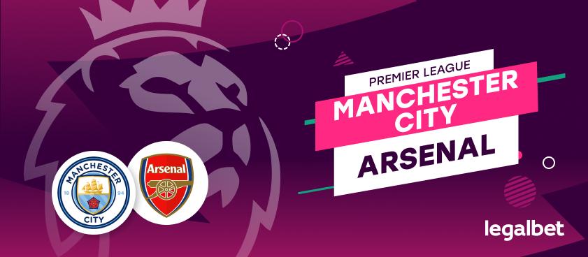 Apuestas y cuotas Manchester City - Arsenal, Premier League 2020/21