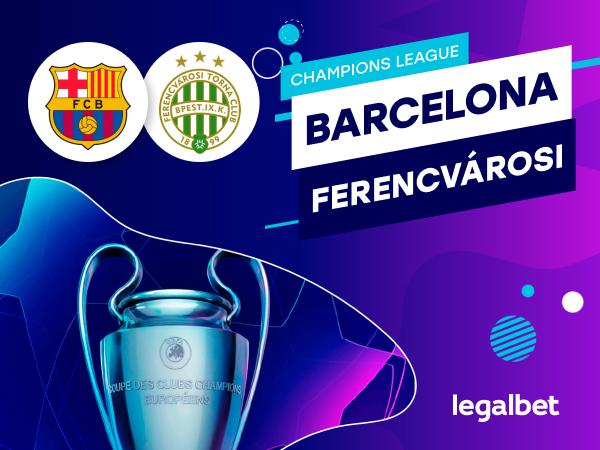Antxon Pascual: Apuestas y cuotas Barcelona - Ferencvarosi, Champions League 2020.