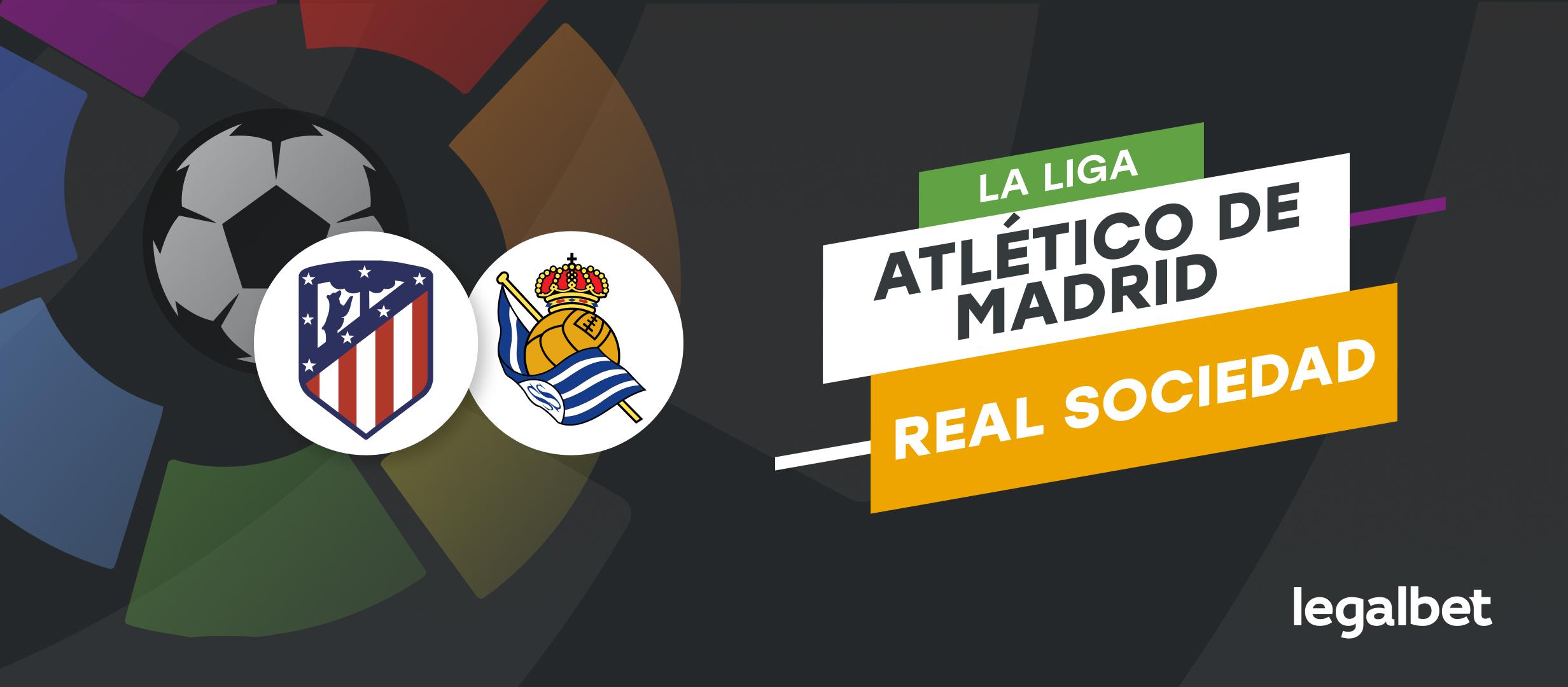 Apuestas y cuotas Atlético de Madrid - Real Sociedad, La Liga 2021/22