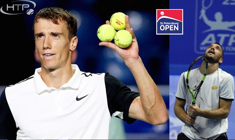 Теннис. St. Petersburg Open 2017. Андрей Кузнецов - Виктор Троицки