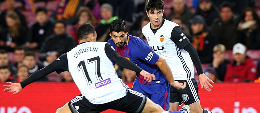 Pronóstico Valencia - Barcelona, La Liga 07.10.2018