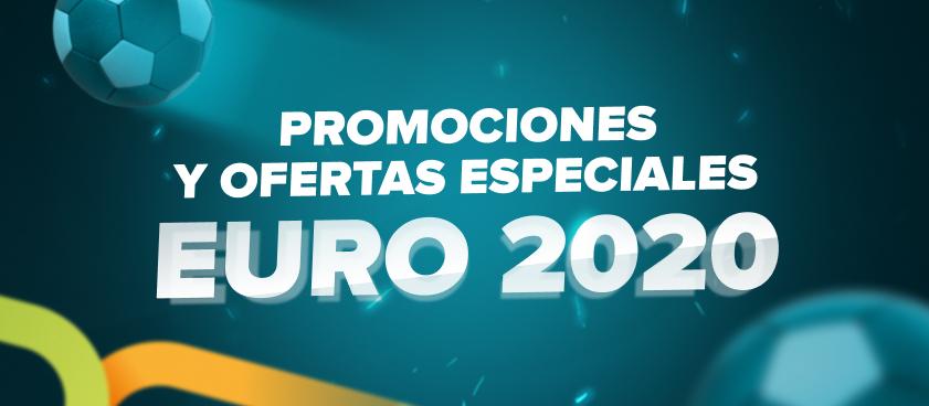 Todo sobre los bonos y promociones especiales para la EURO 2020