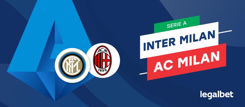 Apuestas y cuotas Inter de Milán - AC Milan, Serie A 2020/21