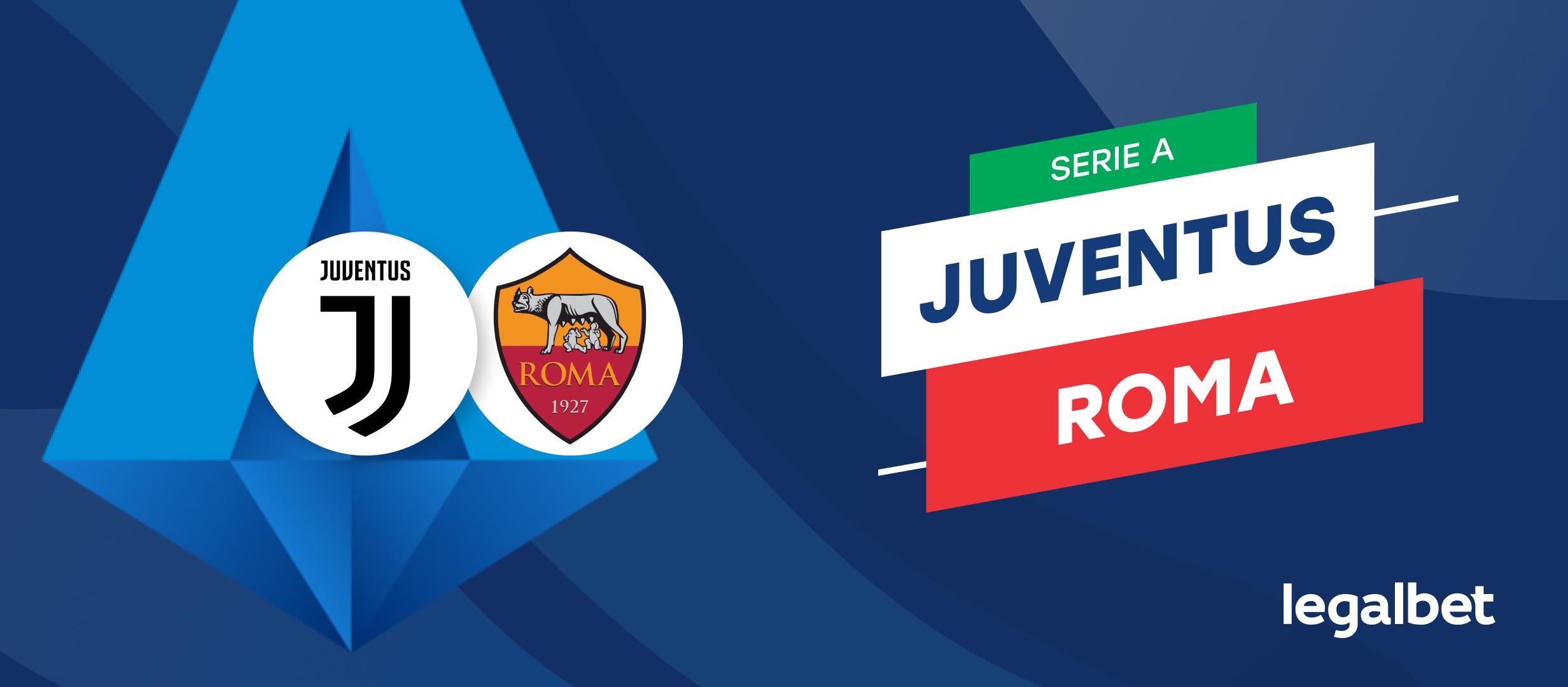 Apuestas y cuotas Juventus - Roma, Serie A 21/22