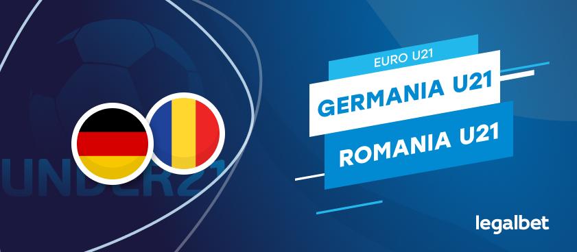 Germania U21  - România U21, cote la pariuri, ponturi şi informaţii