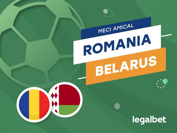 Karbacher: România - Belarus: cote la pariuri şi statistici.