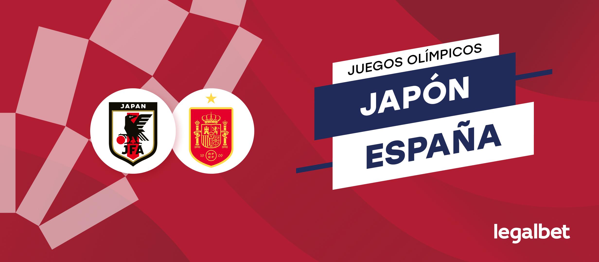 Apuestas y cuotas Japón - España, Juegos Olímpicos 2020 (2021)