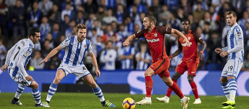FC Sevilla - Real Sociedad. Ponturi pariuri sportive La Liga